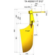 Timone nibral TNI40200-11T S12°
